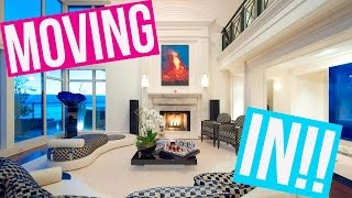 MOVING INTO MY NEW APARTMENT!!