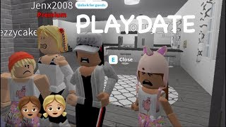 Roblox Bloxburg| Baby PlayDate Routine