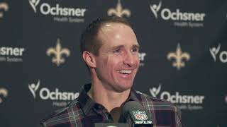 See what Drew Brees had to say after Thanksgiving game vs. Falcons