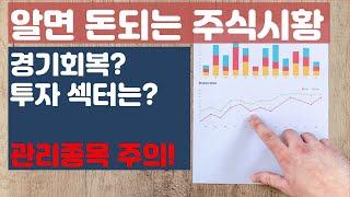 ✦시황✦ 상승장 대비, 경기민감주, 반도체관련 주, 원…