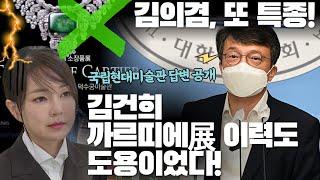 """김의겸 """"김건희 까르띠에展 이력도 도용이었다!…"""