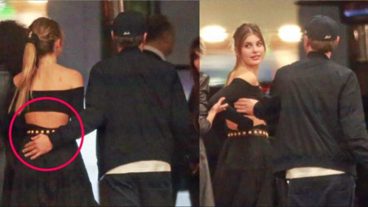 Camila Morrone with boyfriend Leonardo DiCaprio