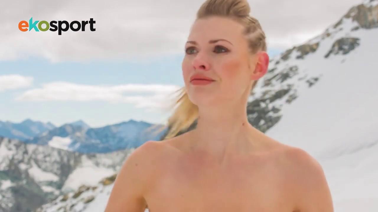 Angie Cepeda Nua ekosport ad - nordic ski (ski nordique)