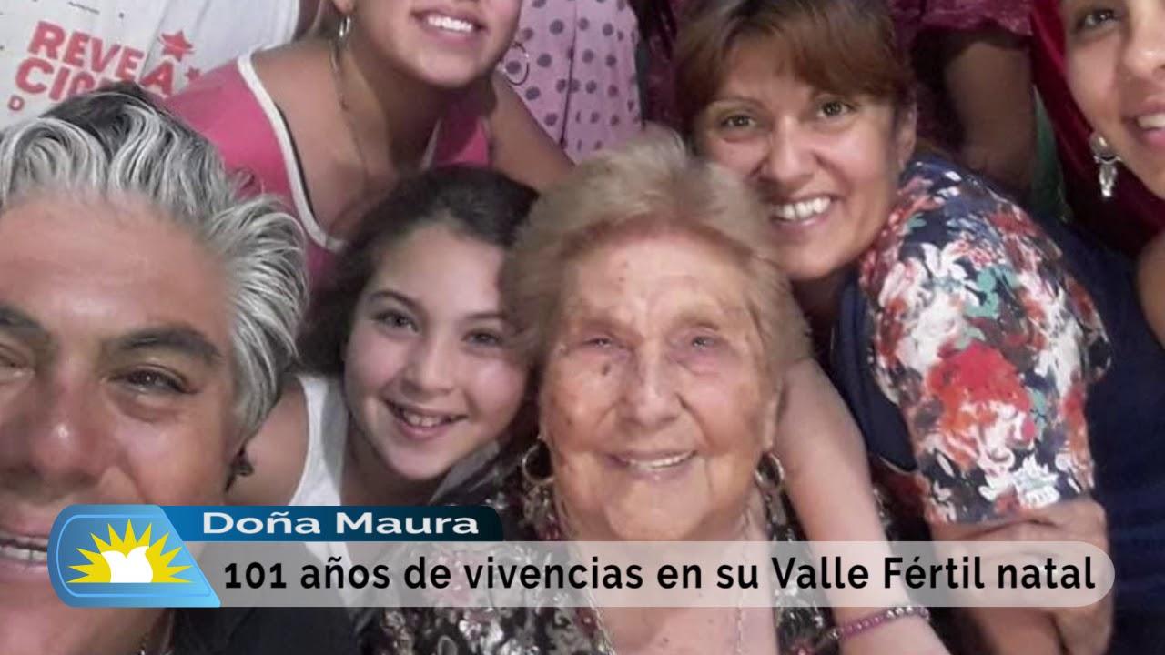 Doña Maura y las vivencias de sus 101 años