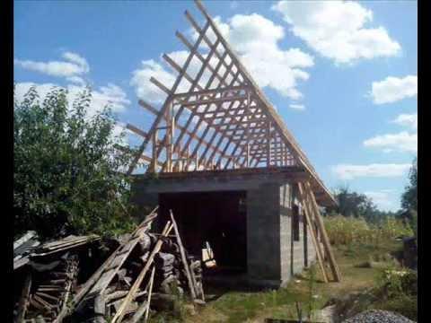 видео: Строим гараж сарай