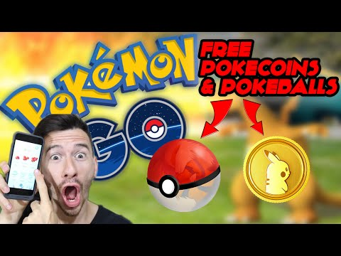 How To Get More Pokeballs & Free PokeCoins - Pokemon Go!