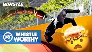 Top 10 AMAZING Football Throws