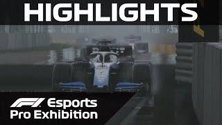 F1 Esports Pro Exhibition Race: Canada Highlights | Aramco
