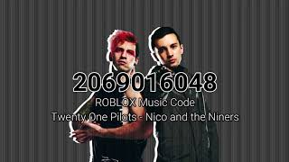 Twenty One Pilots - Nico And The Niners | ROBLOX Music Code