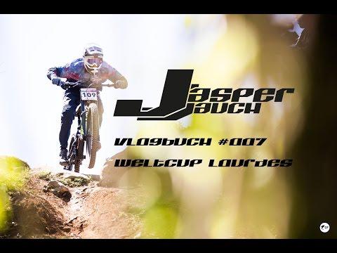 VB #007 - Downhill Weltcup in Lourdes | Jasper Jauch