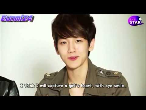 [ENG SUB] EXO-K Baekhyun smile eyes - YouTube