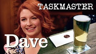 Taskmaster S6 Ep4 | Remove £5 Note Without Touching The Glass | Dave