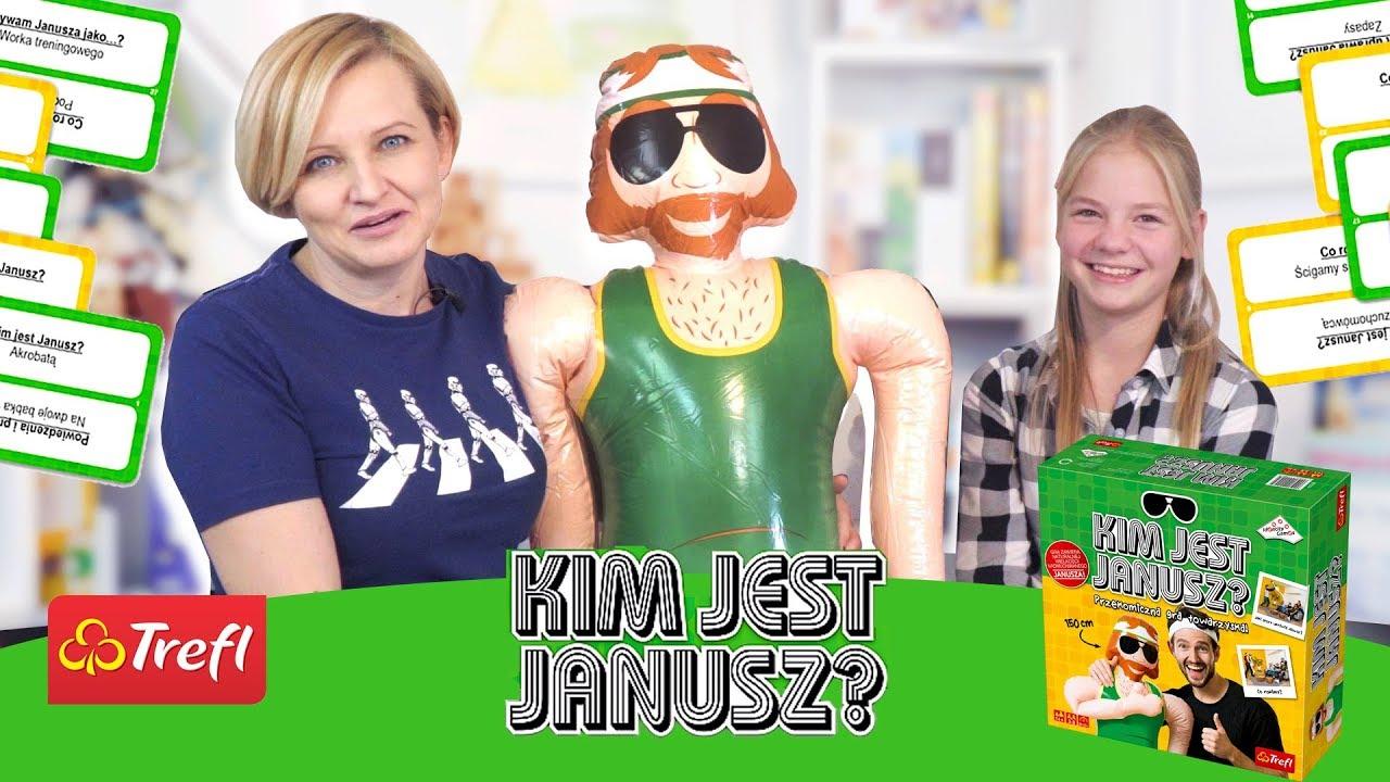 Gra Kim jest Janusz?, Trefl YouTube