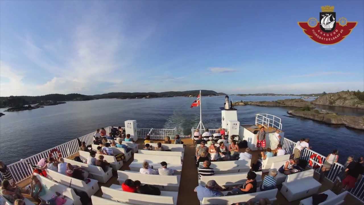 Kragerø - Jomfruland tur/retur