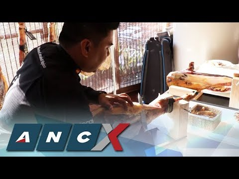 How To Carve Jamón Ibérico According To Filipino Master Carvers | ANC-X