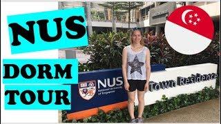National University of Singapore Dorm Tour UTown | KatChats
