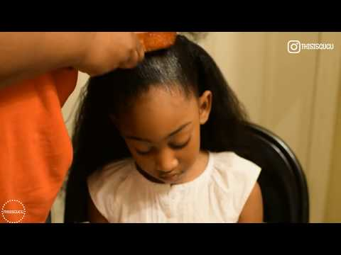 EASY KIDS NATURAL HAIRSTYLES: PILLOW SOFT CURLS