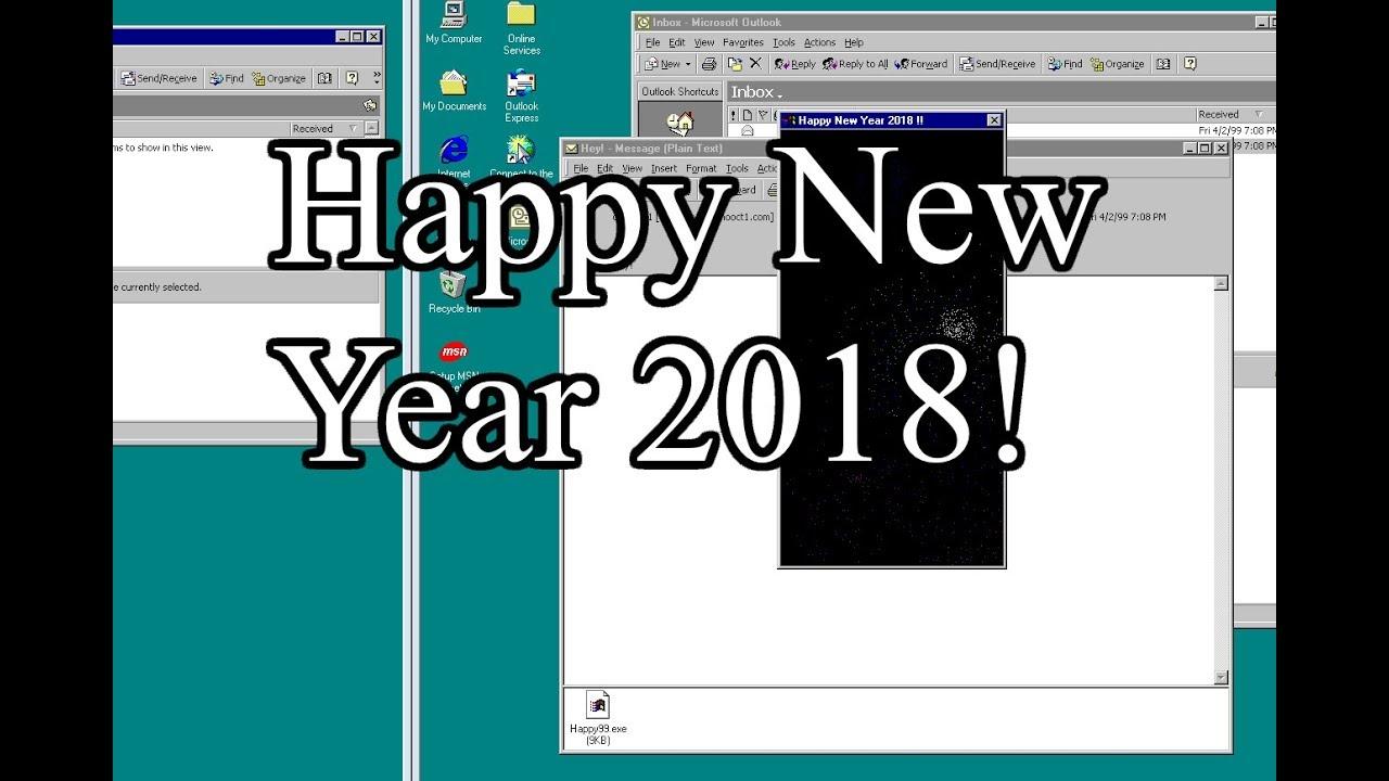email wormwin32happy2018 happy new year 2018