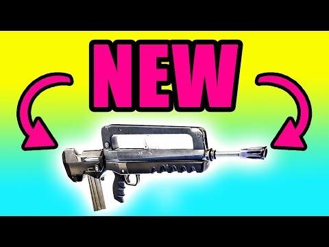 Fortnite NEW Gun Update! New Burst Assault Rifle ⚠️ Fortnite Battle Royale Gameplay PC