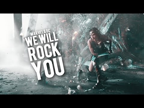 MARVEL&DC | We will rock you.
