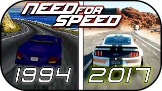 EVOLUTION of Need for Speed trailers (1994-2017) (ALL NFS trailers intros)
