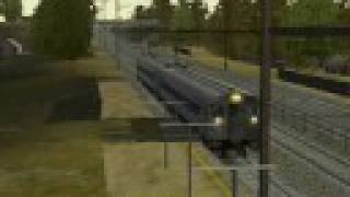 MSTS Silverliner IIs on the NEC V4.0