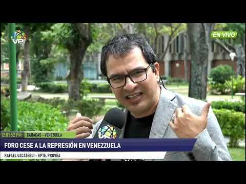 Venezuela - Foro cese a la represión en Venezuela - VPItv