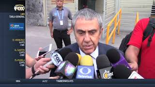 """La Liguilla va a estar sabrosa"": Ing. Alejandro Rodríguez"