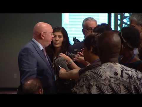 Vassily Nebenzia (Russia) on D.P.R.Korea & other matters - Press encounter (9 August 2017)