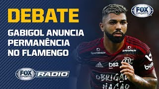 O dia do 'Fico' de Gabigol no Flamengo virou debate no 'FOX Sports Rádio'