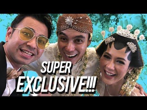 Super Exclusive! Ceria dan Tangis di Akad Nikah Baim Wong dan Paula