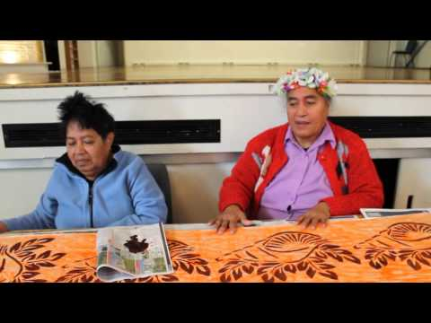 Tuvalu Language Week 2015 with Vaka Tautua Older People's Group