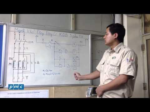 PMC - Cấu tạo và nguyên lý hoạt động mạch khởi động động cơ sao tam giác
