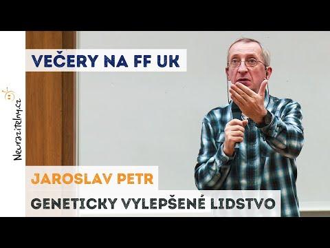 Jaroslav Petr - Geneticky vylepšené lidstvo | Neurazitelny.cz | Večery na FF UK