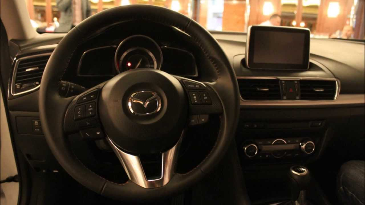 New 2014 Mazda3 Look At The Interior Youtube