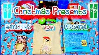 Christmas Gifts 2014 | Hamsters + Personal Thumbnail