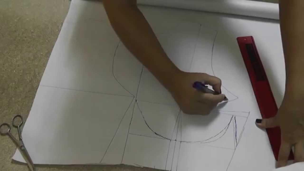 como hacer los patrones del sujetador youtube. Black Bedroom Furniture Sets. Home Design Ideas
