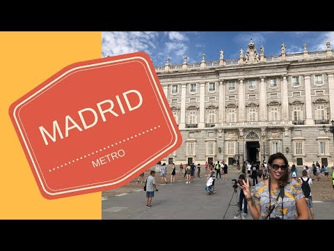 HOW TO BUY THE METRO TICKET IN MADRID, SPAIN