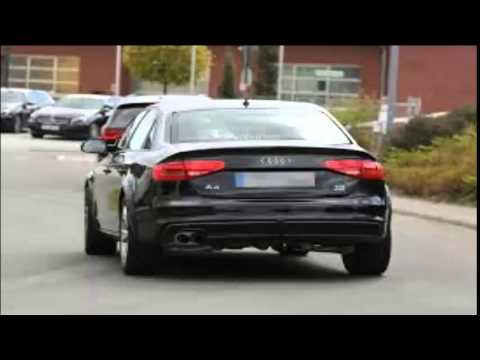 2015 Audi A4 Start Up and Review 2.0 L Turbo 4-Cylinder - YouTube
