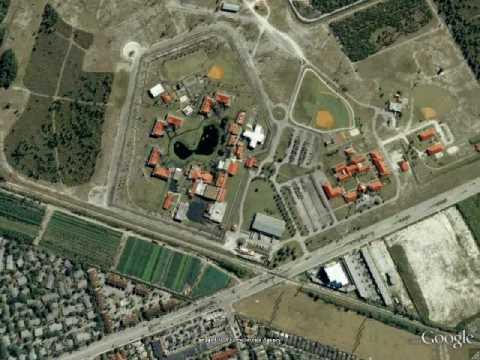 Miami, FL Federal Correctional Institution - Google Earth