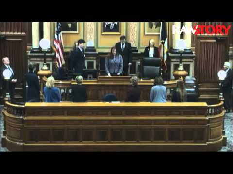 Wiccan priestess offers opening prayer at Iowa House