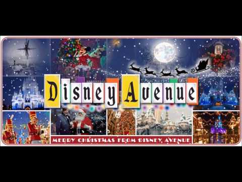 Disneyland Paris Main Street Christmas Loop - DisneyAvenue.com