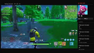 LIVe fortnite/vener help me to be passed from fighting max levels one who happens won a dance
