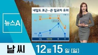 [날씨]내일 서울 낮 11도 '포근'…큰 일교차 유의 …