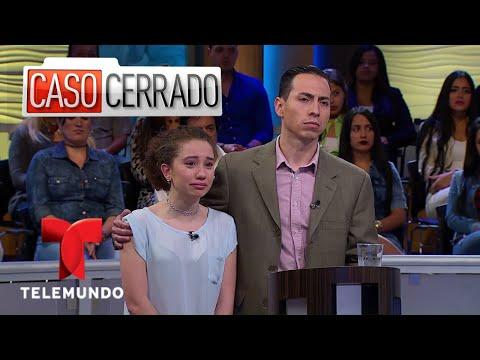¡Humilló a su hija para que se sepa toda la verdad! | Caso Cerrado | Telemundo