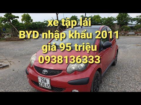 Xe tập lái gia đình xịn không taxi BYD nhập khẩu 2011 giá 95 triệu.alo Quang Anh oto HP 0938136333