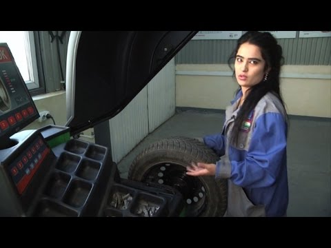 Sisters doing it for themselves in Tajikistan