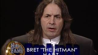WWE Hall of Fame 2006 - Bret Hart Induction Speech