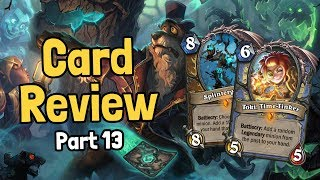 New Legendaries & Echo Cards - Witchwood Card Review Part 13 - Hearthstone
