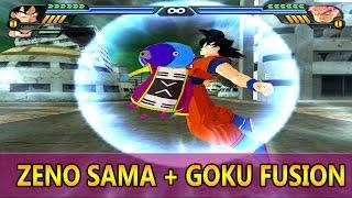 Goku and Zeno Sama (Omni King) Fusion | Zenkku The Omni Saiyan | DBZ Tenkaichi 3 (MOD)